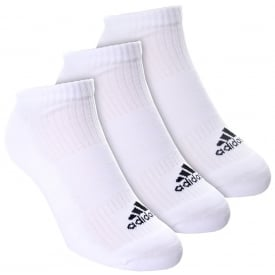 3 Stripe Performance No Show 3 Pack