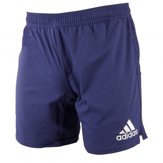 Adidas Classic 3 Stripe Rugby Shorts