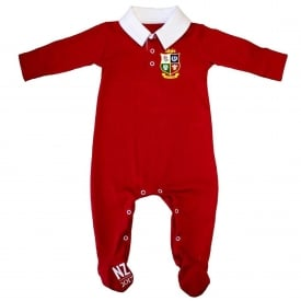 Official British & Irish Lions Infant Sleepsuit