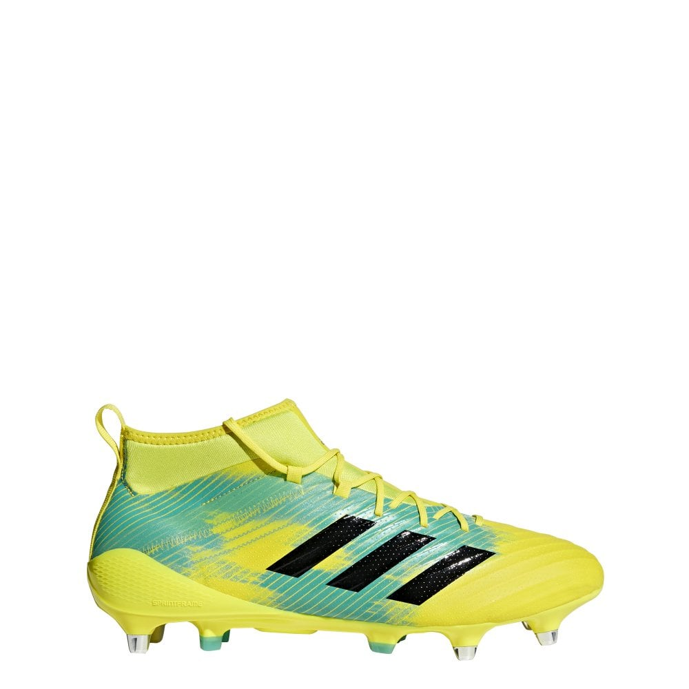 07b254b4c Adidas Predator Flare Soft Ground Mens Rugby Boots - Footwear from ...