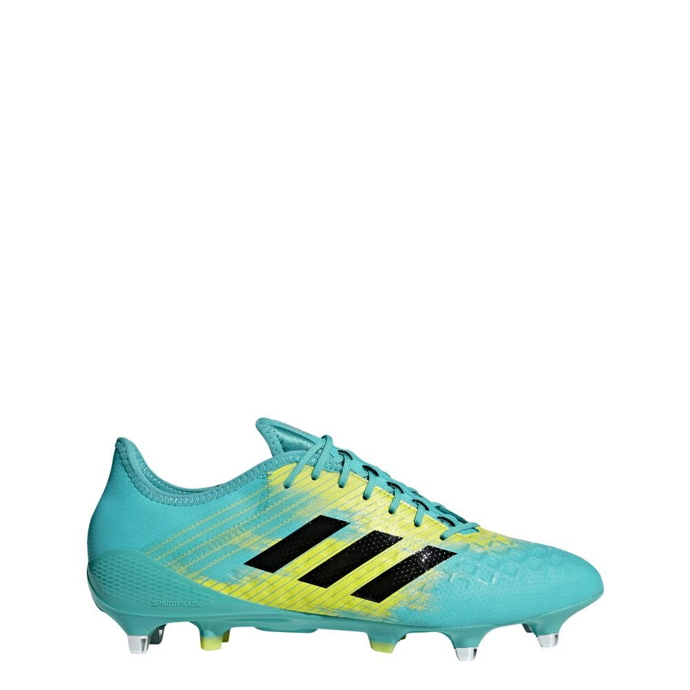 dilema Talentoso propietario  Adidas Predator Malice Control Soft Ground Mens Rugby Boots - Footwear from  John Moore Sports UK
