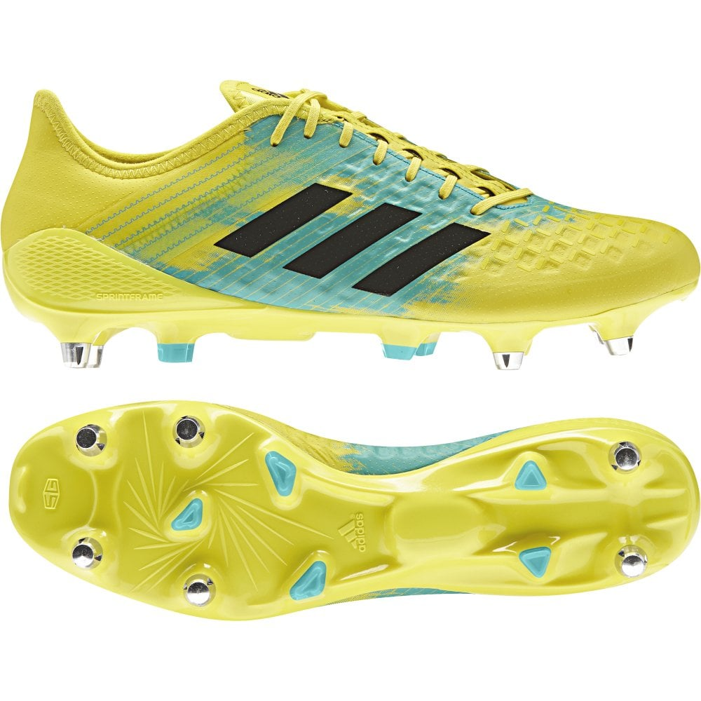 Gaviota Amasar Mendigar  Adidas Predator Malice Control Soft Ground Rugby Boots - Footwear from John  Moore Sports UK