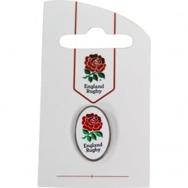 RFU Oval White Pin
