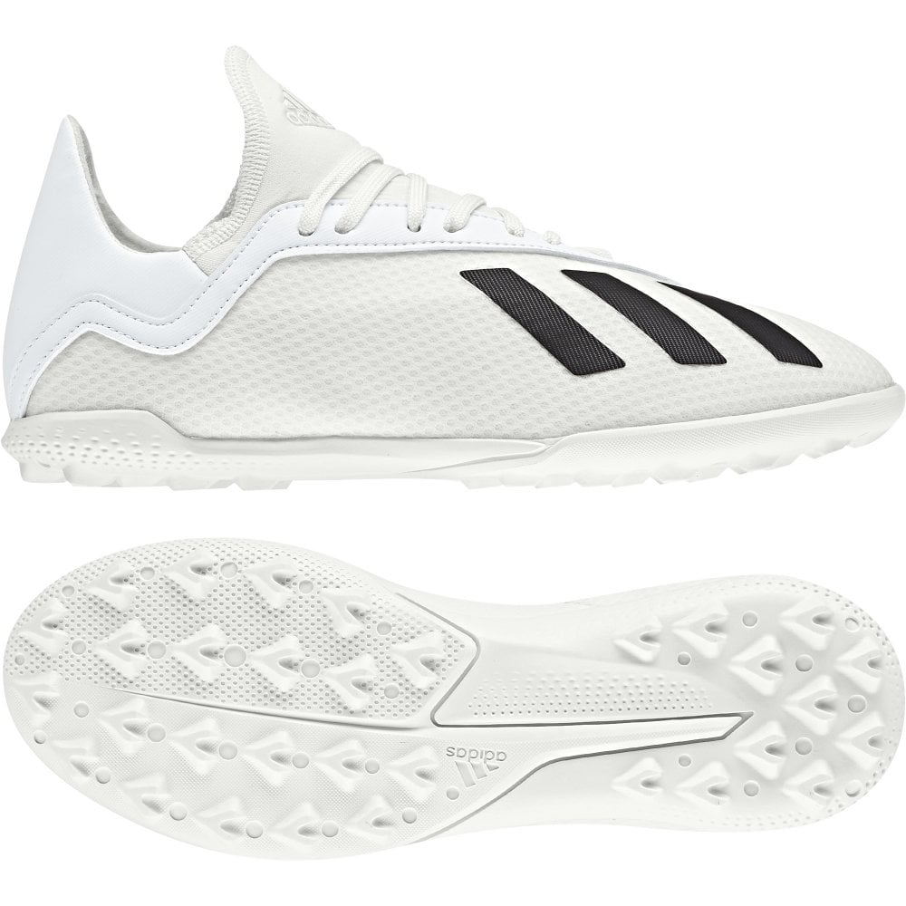new concept 479b0 0c839 Adidas X Tango 18.3 Junior Turf Boots - Off white/Core black/Gold met.